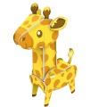 Puzzle 3D giraffa