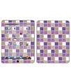 Royal Sticker Royal adesivo RS.43266adesiva per iPad, motivo: Purple Plaid