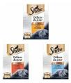 SHEBA Délices Du Jour Cibo per Gatto, 3 gusti diversi, 216 Bustine da 50 g - Sheba