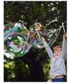 LGVSHOPPING Gioco Per Bambini Per Bolle Di Sapone Con Asta Da 39cm Liquido Da 120ml