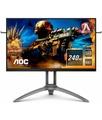 AOC Gaming AG273QZ monitor piatto per PC 68,6 cm (27') 2560 x 1440 Pixel Quad HD LED Nero, Rosso