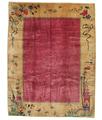RugVista 275X360 Tappeto Cinesi Antichi: Art Deco 1920 Orientale Fatto A Mano Marrone Chiaro/Rosso/Rosso Scuro Grandi (Lana, Cina)