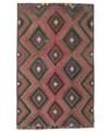 Annodato a mano. Provenienza: Turkey Tappeto Orientale Kilim Semi-Antichi Turchi 185X300 (Lana, Turchia)