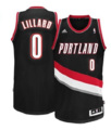 Canotta adidas Damian Lillard Portland Trail Blazers Revolution 30 Swingman Road
