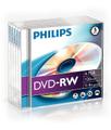 Philips DVD-RW 4,7GB 4x jewel case (5pzz)