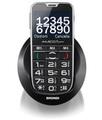 Brondi AMICO CI SENTO 2.3'' Nero Telefono per anziani