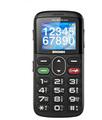 Brondi AMICO GENTILE 1.7'' Nero Telefono per anziani