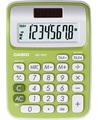 Casio MS-6NC Scrivania Calcolatrice di base Verde calcolatrice