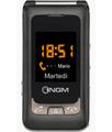 NGM-Mobile Facile Sempre 2.4'' 90g Nero Telefono di livello base